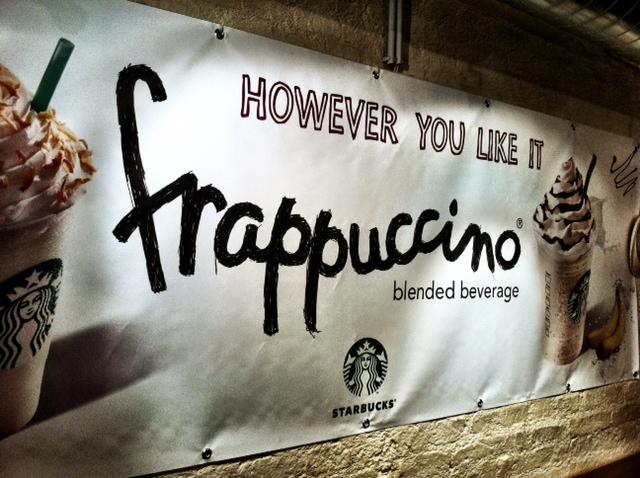 MIT HANDKUSS - Frappuccino