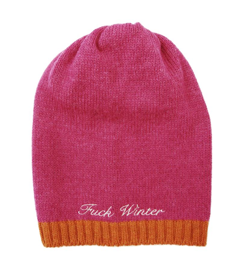 Fuck Winter_Haube_©_Fuck Winter