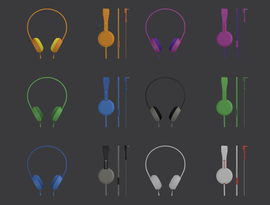 Coloud headphonesthe knock