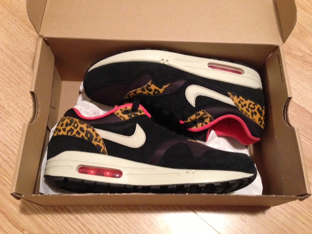 MIT HANDKUSS_Air Max 1_Leopard Pack_Sneaker