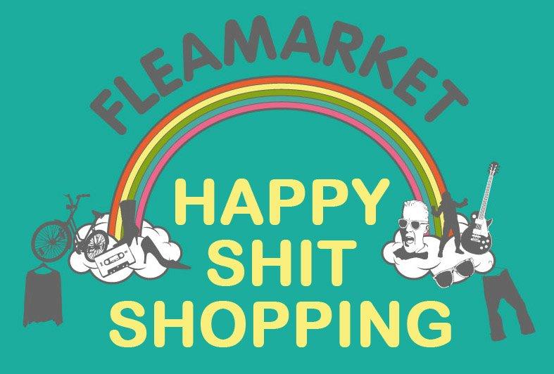 Happy Shit Shopping_Flohmarkt_Wien