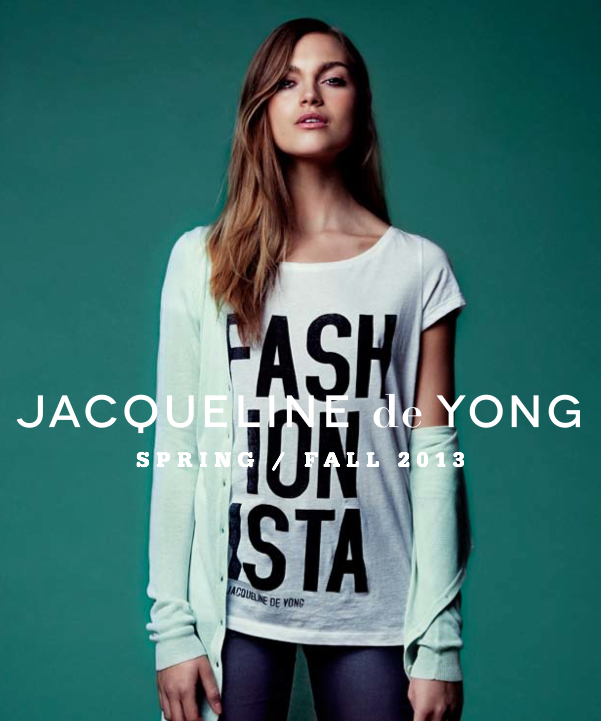Jacqueline de Yong_Only_Spring_Fall_2013