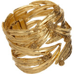 Aurelie Bidermann Gold Surfing Mimosa Cuff