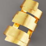 Herve Van Der Straeten Wide Ribbon Cuff