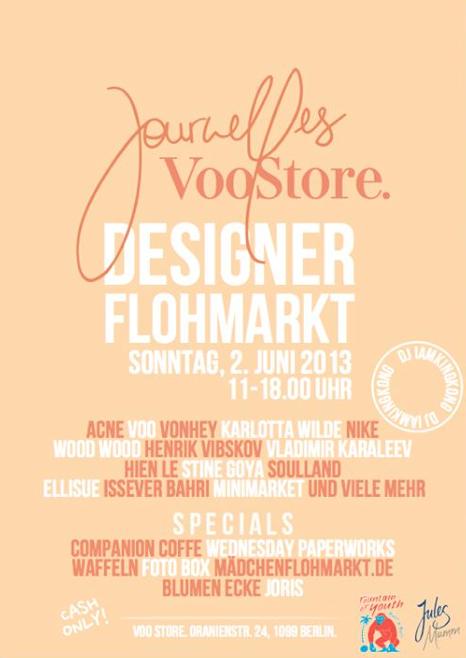 Designer_Flohmarkt_Journelles_Voo Store_Berlin_Flyer