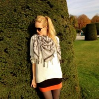Leigh_Luca_Schal_Fashion_Herbst_Schönbrunn_HANDUSS_Lena Catarina Kratz