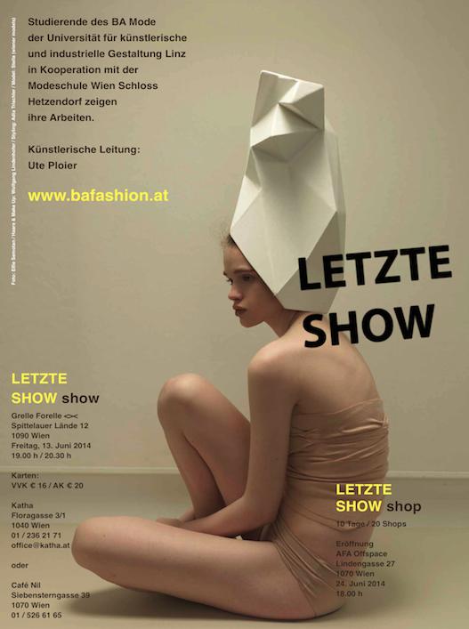 Letzte_Show_Hetzendorf_Modeschule_Bachelor_Grelle Forelle_Tickets_Gewinnspiel