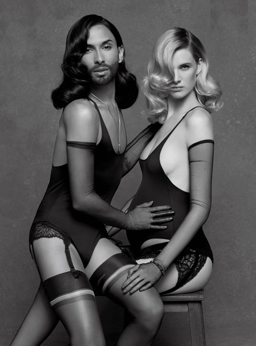 Karl Lagerfeld_Conchita Wurst_CR Fashion Book