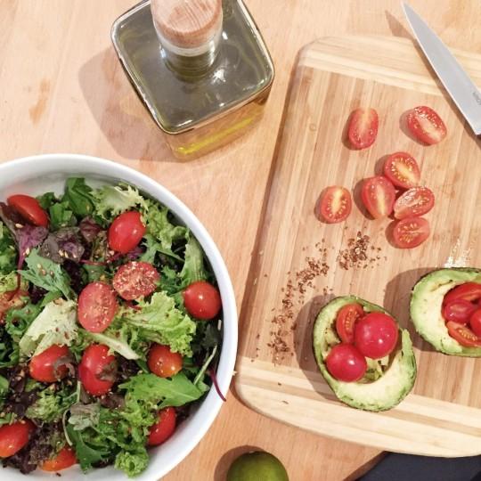 Rezept_Ziegenkäse_Salat_Blog_Mit Handkuss