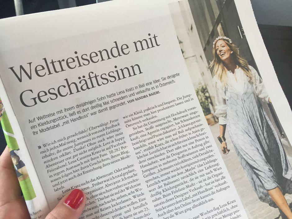 mit Handkuss - Kurier - Presse
