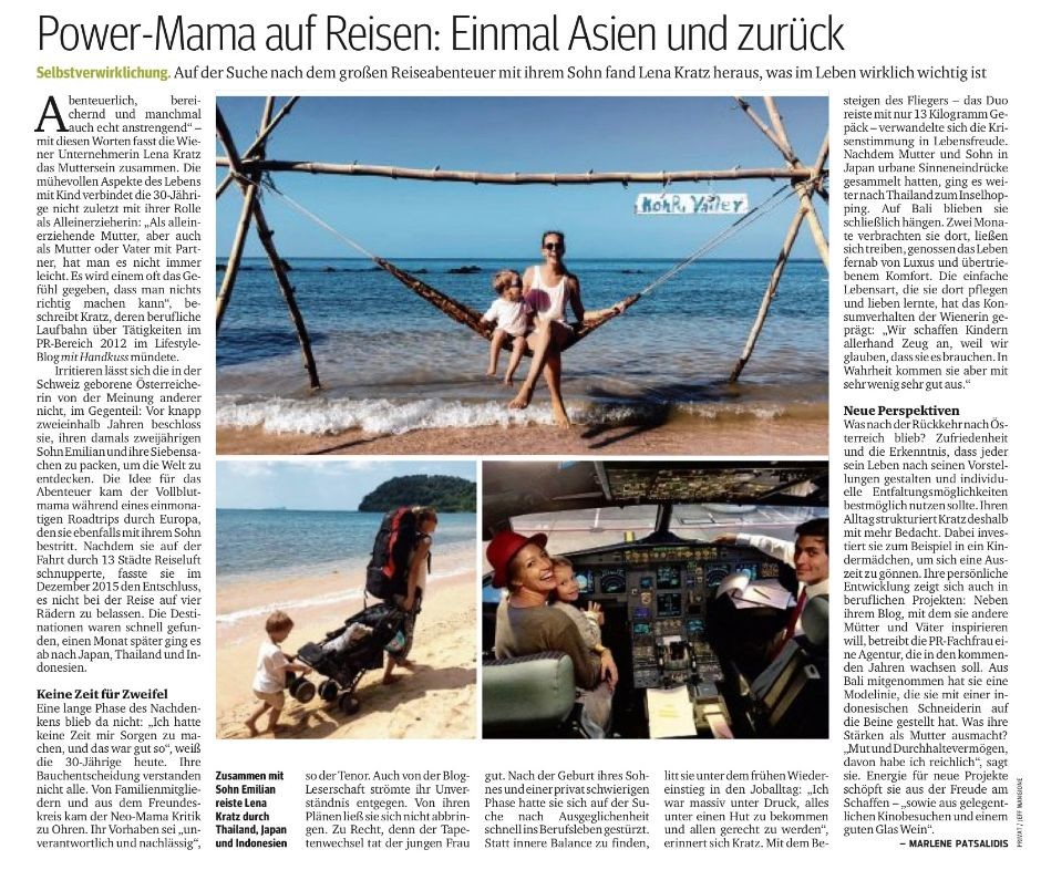 Kurier_Interview_Influencer_Alleinerzieherin