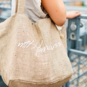 mit Handkuss_Shopper_Bag_Natur_Logo